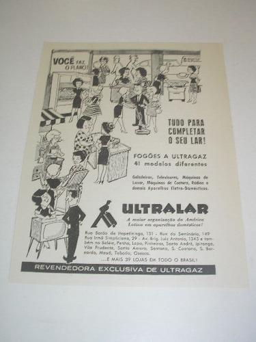 ( l - 290/ g) propaganda antiga lojas ultralar