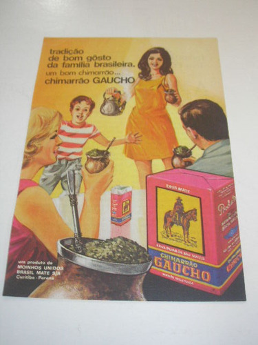 ( l - 290/ p  ) propaganda antiga chimarrão gaucho # 3