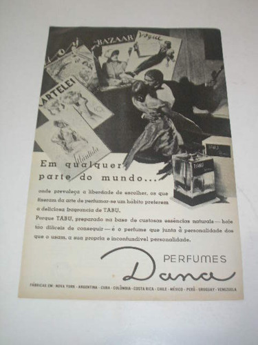( l 290/ p ) propaganda antiga cosméticos dana # 4
