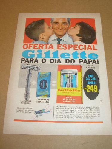 ( l - 290/ p ) propaganda antiga gillette # 11