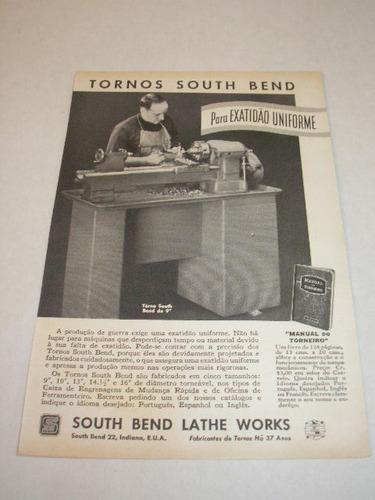 ( l - 290/ p  ) propaganda antiga torno south bend # 4