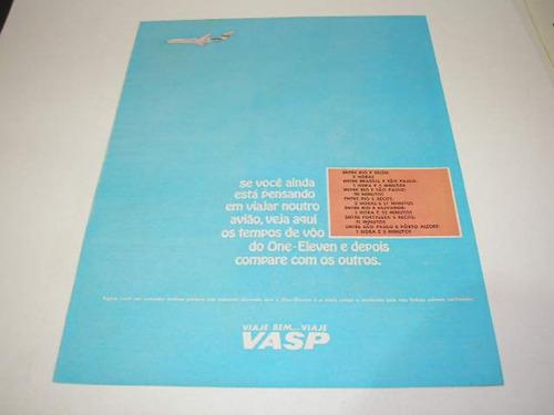 ( l - 290 ) propaganda antiga  empresa aérea vasp # 4