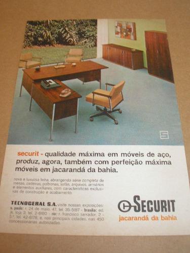 ( l - 290 ) propaganda antiga indústria  securit # 6