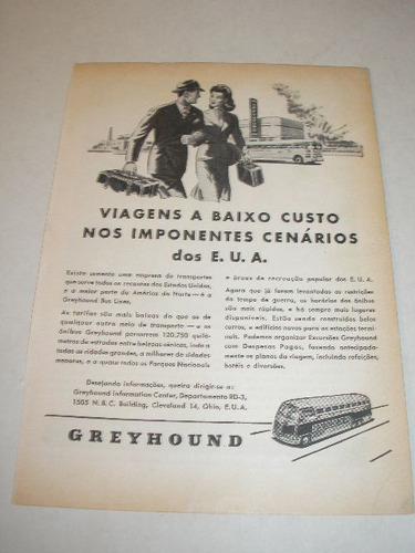 ( l - 290 ) propaganda antiga onibus greyhound # 3
