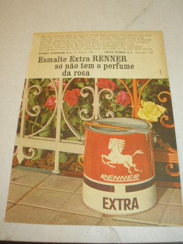 ( l - 290 )  propaganda antiga tintas renner # 3