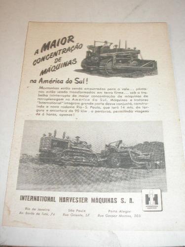 ( l - 290 ) propaganda antiga trator international harvester