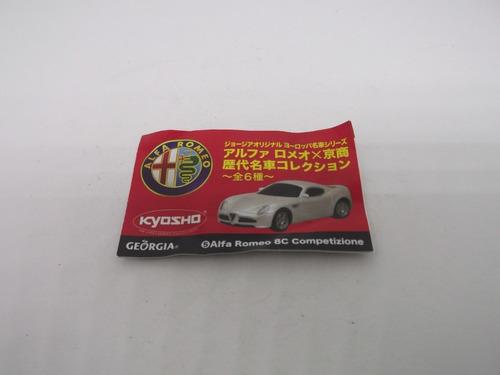 ( l - 360 ) kyosho 02 ( duas ) miniaturas do alfa romeo # 4
