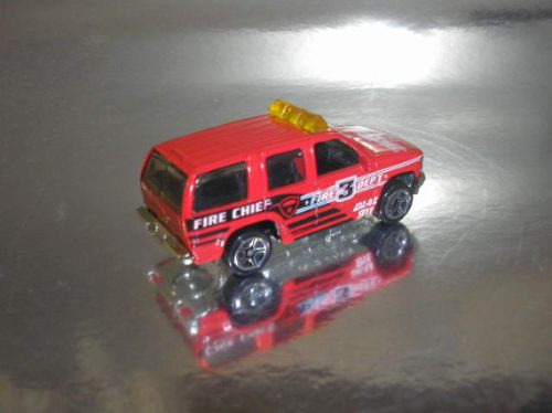 ( l - 40 ) matchbox chevrolet tahoe bombeiro