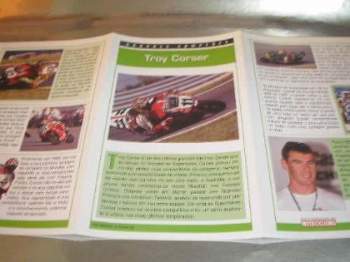 ( l - 430 ) folder grandes campeões piloto  troy corser