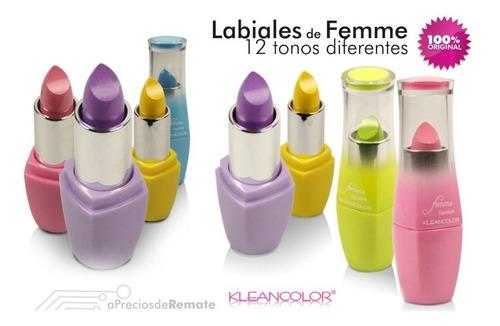¡ lápiz labial envious desire kleancolor femme color verde !