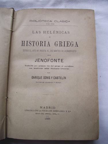 - las hélenicas o historia griega: jenofonte despacho gratis