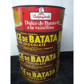 Latas Antiguas Dulce Batata,llenas
