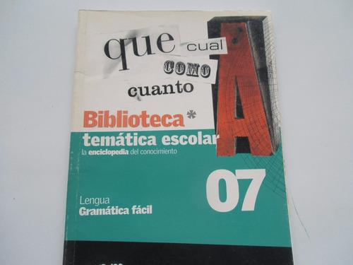 ++ libro de castellano gramática fácil escolar 07