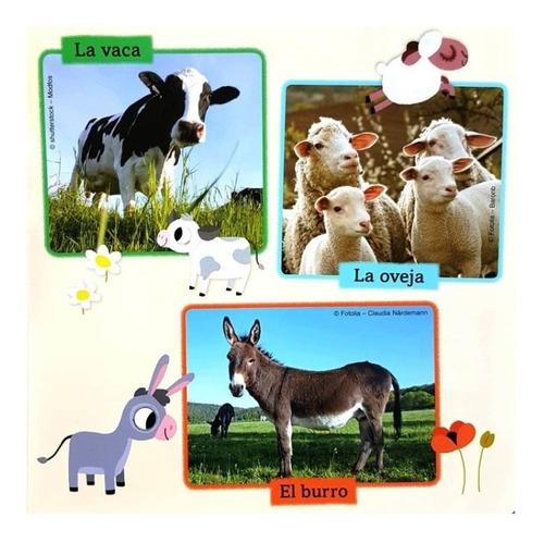 ** libro imagenes escuchar animales de la granja ** sonido