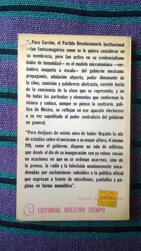 { libro: mito y magia del mexicano - autor: jorge carrión }