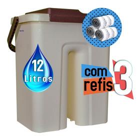 Limpador Multiuso Com Refil Mop Wash Dry Premium Mop Balde