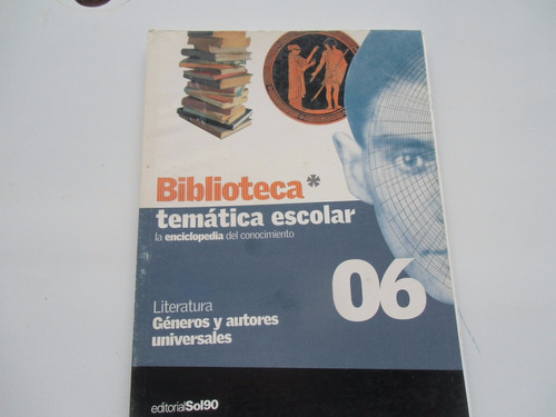 ++ literatura géneros y autores universales escuela 06