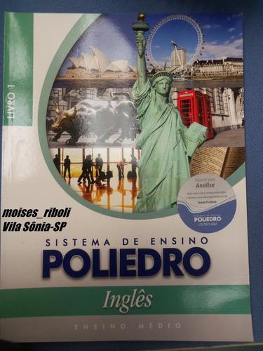 * livro 1 inglês ensino médio poliedro ed. 2013   l9