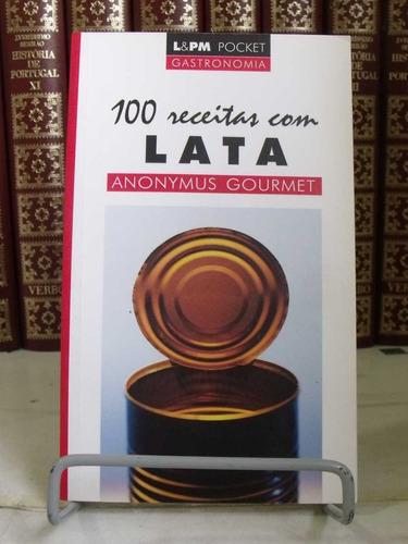 * livro - 100 receitas de lata