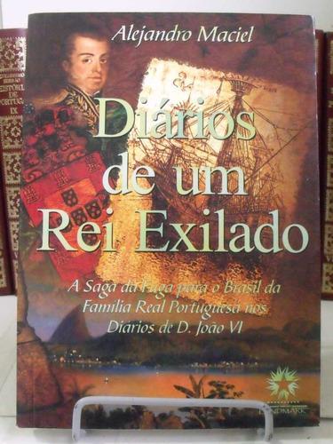 * livro - diários de um rei exilado