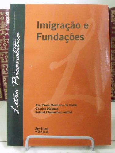 * livro - imigração e fundações