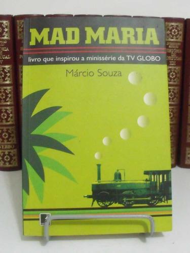 * livro - mad maria - márcio souza