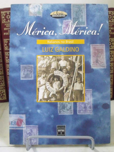 * livro - mérica, mérica: italianos no brasil