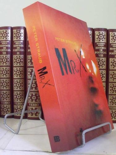 * livro - mr. x - peter straub
