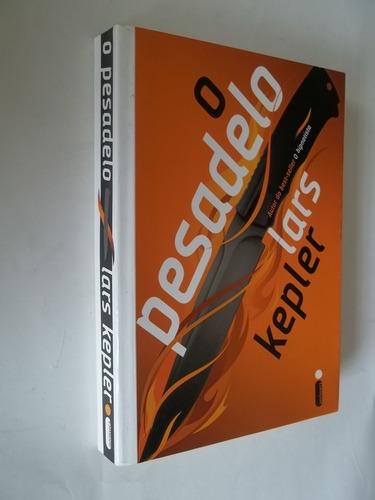 * livro - o pesadelo - lars kepler - literatura estrangeira
