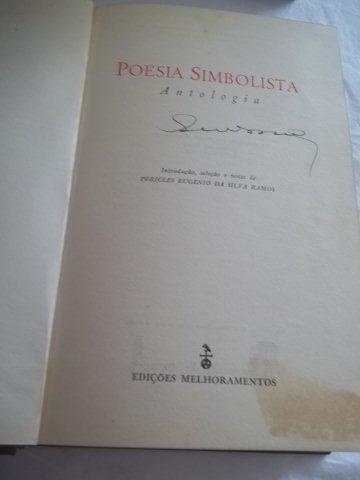 * livro - poesia simbolista - literatura estrangeira