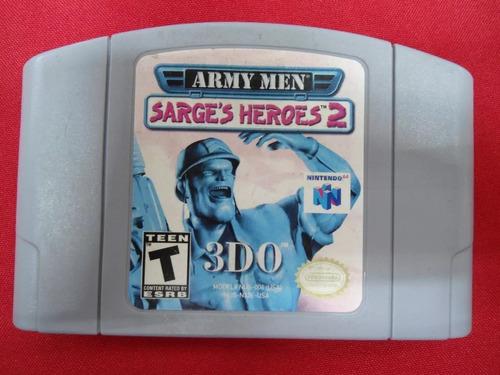* longaniza games * nintendo 64 army men sarges heroes 2