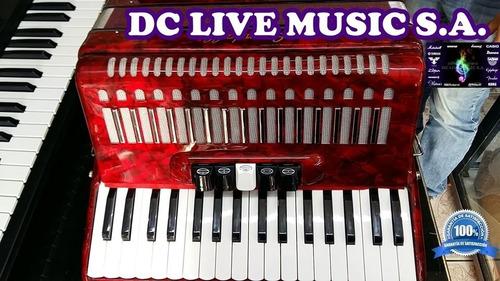 !!! los acordeones scandall de 72 bajos y 5 registros