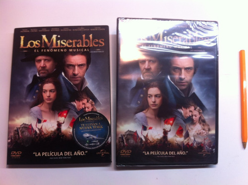 *** los miserables les miserables pelicula musical dvd ***