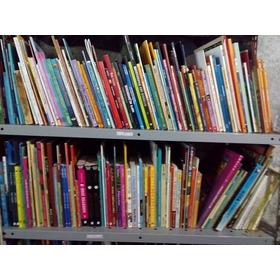 Lote 120 Livros Infanto Juvenis Para Sebos E Revendedores