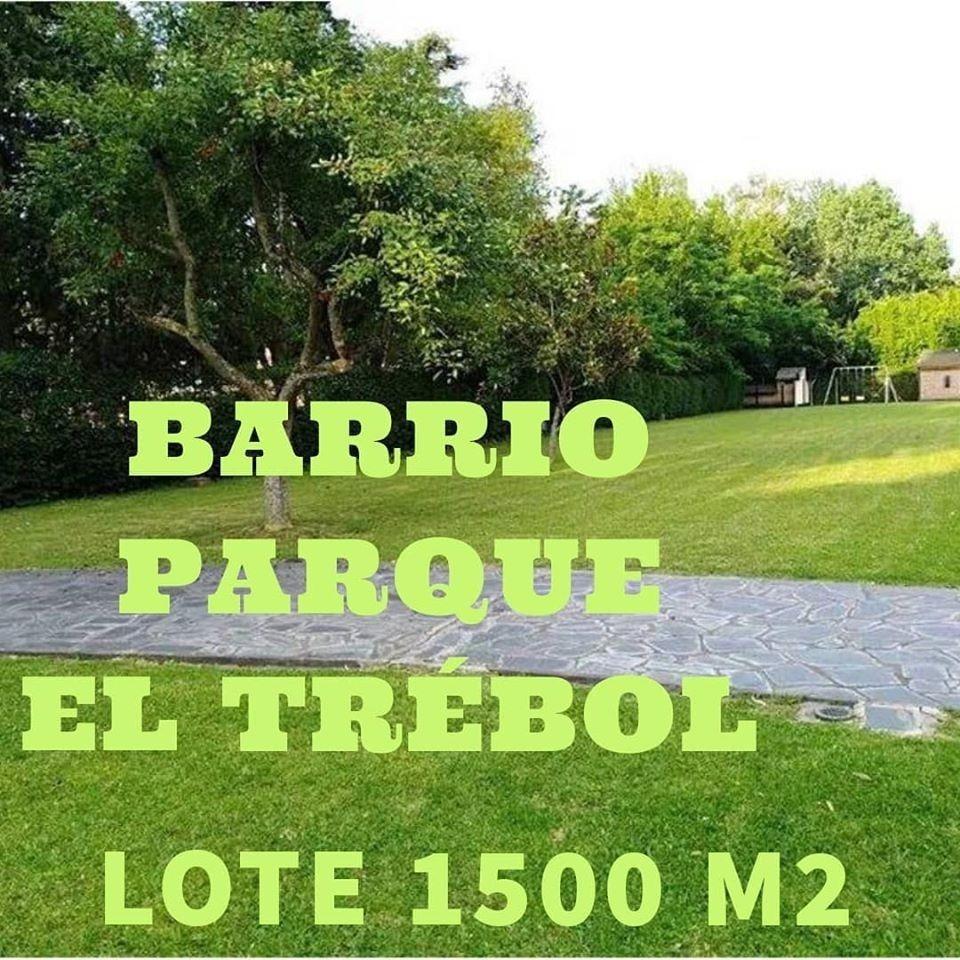 ### lote 1550 m2 ### barrio parque el trébol ### ezeiza ###