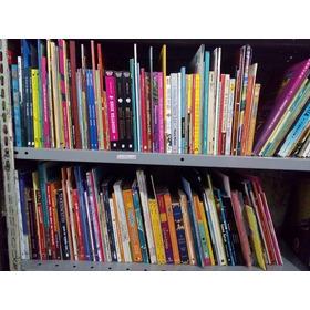 Lote Com 120 Livros Infanto Juvenis