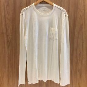 64e822a0cc Camiseta Osklen Flame Manga Longa Camisetas Masculino - Camisetas e ...
