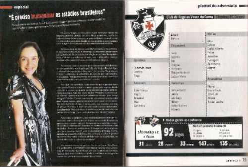 +m+ revista preleção # 11 - são paulo ingresso pelé morumbi