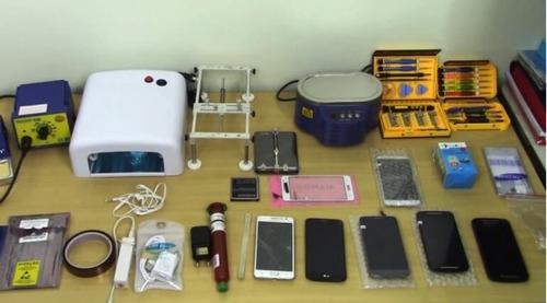 - manutenção de celulares e computadores -