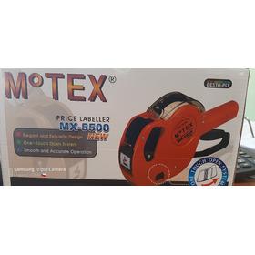 Maquina Original Motex 5500 Fechadora O Precios Etiquetad