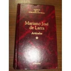*  mariano josè de larra    -   artìculos