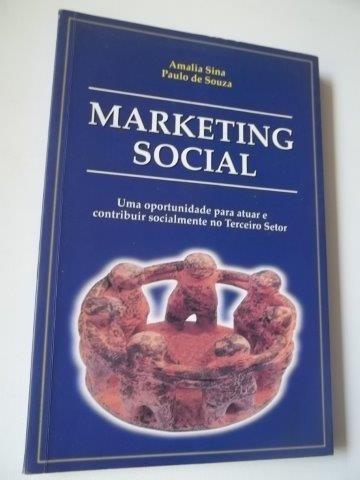 * marketing social - amalia sina - livro usado