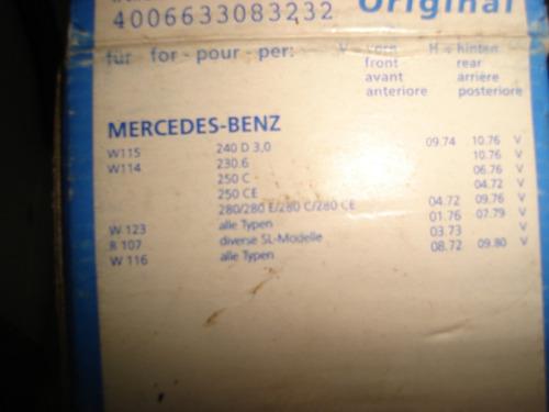 *-* mercedes benz chasis 123 115 114 ate original nueva unca