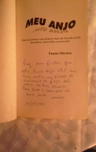 * meu anjo - fausto oliveira - livro