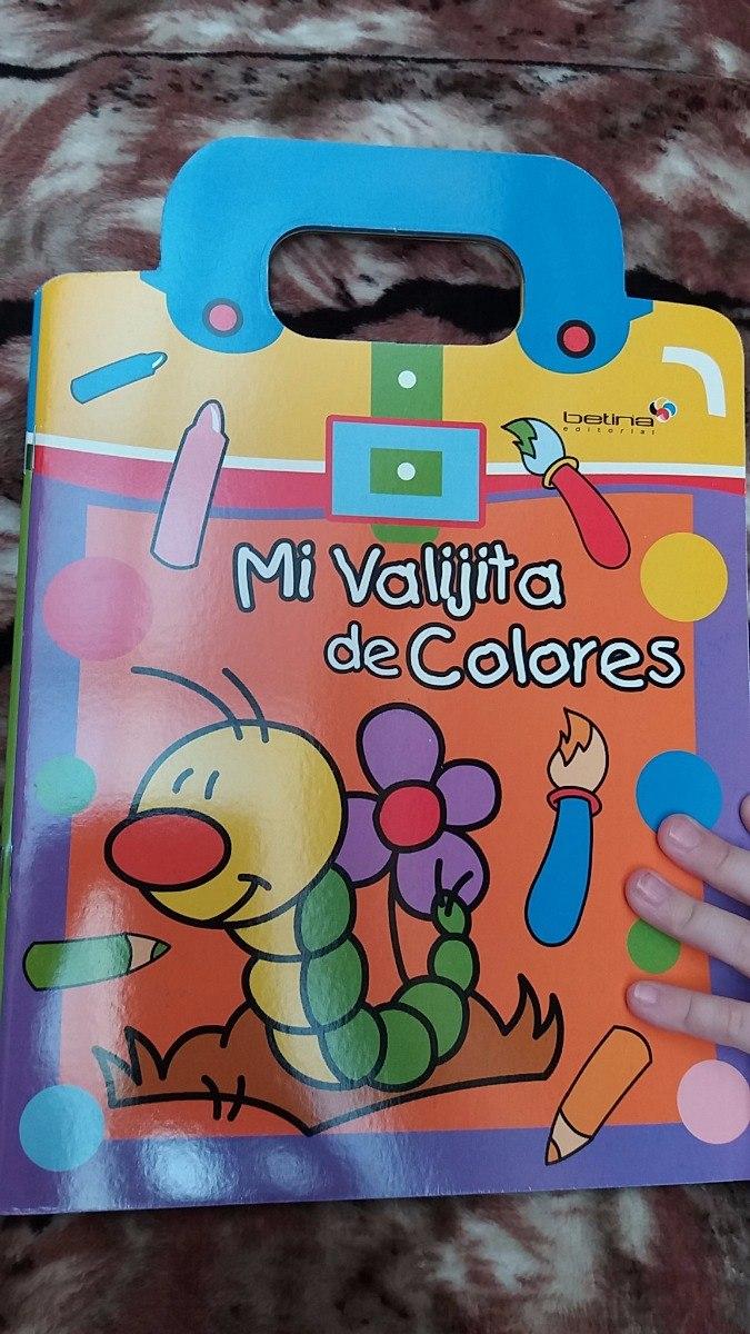 Mi Valijita De Colores ** Libro Para Pintar Colorear - $ 84,70 en ...