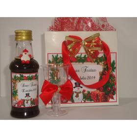Mini Vinhos Personalizados/decorados Lembranças Natal 30un