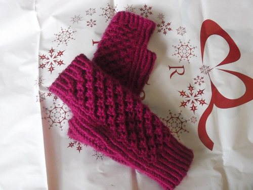 ´´ mitones¨´ exclusivos y elegantes tejidos  a crochet