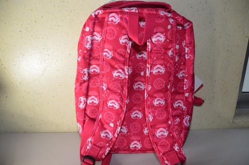 ! mochila kipling edición star wars rosa !