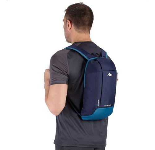 ® mochila quechua arpenaz 10 litros azul