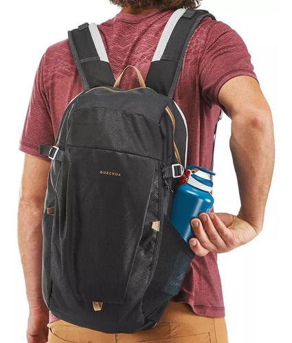 ® mochila quechua nh100 20 litros negro